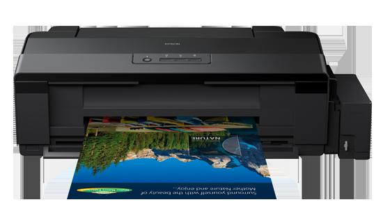 Epson L1800, com seis cores e bulk ink de fábrica